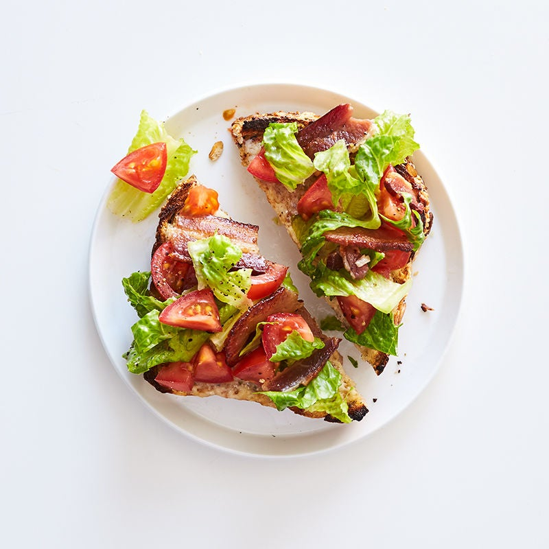 Photo of BLT breakfast cheese toast by WW