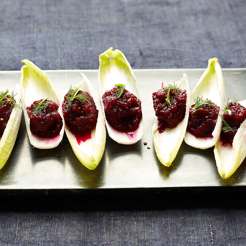 Photo of Beet & endive canapés by WW