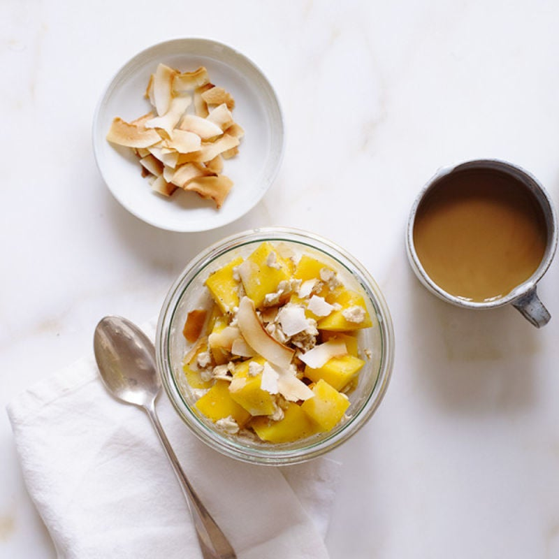 Photo of Tropical Mango Overnight Oats by WW