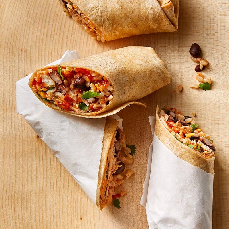Photo of Quick chicken burritos by WW