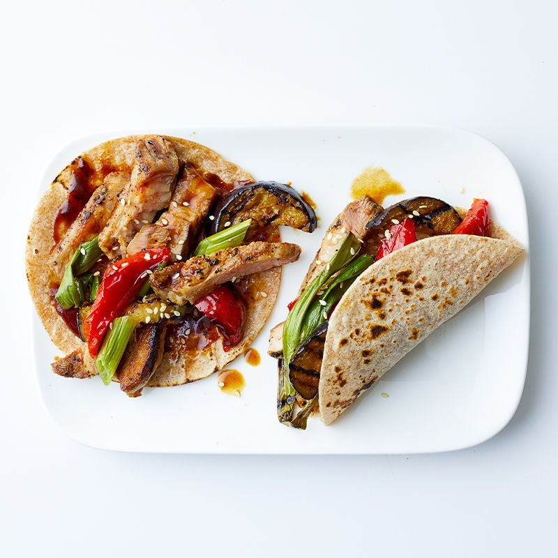 Photo of Pork and vegetable wraps by WW