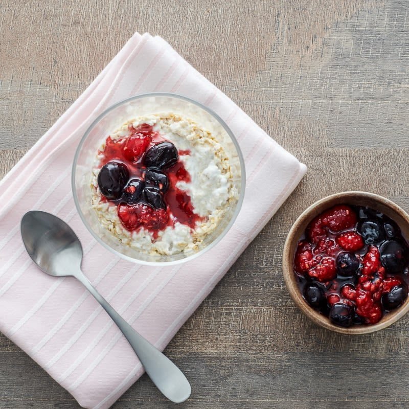 Photo of Berry crush overnight oatmeal by WW