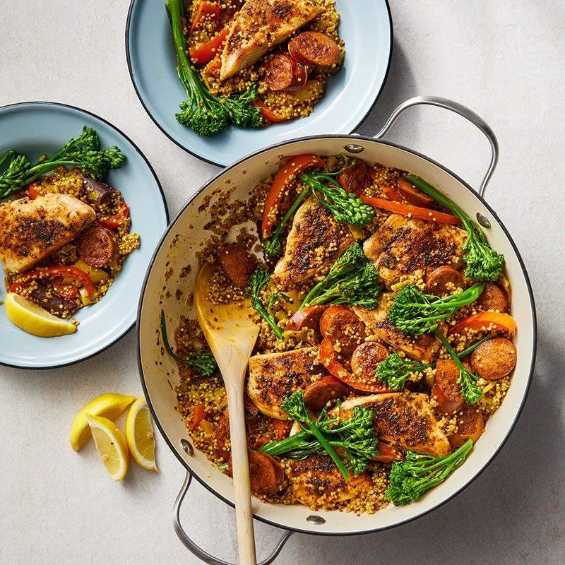 """Photo of Quinoa """"paella"""" by WW"""