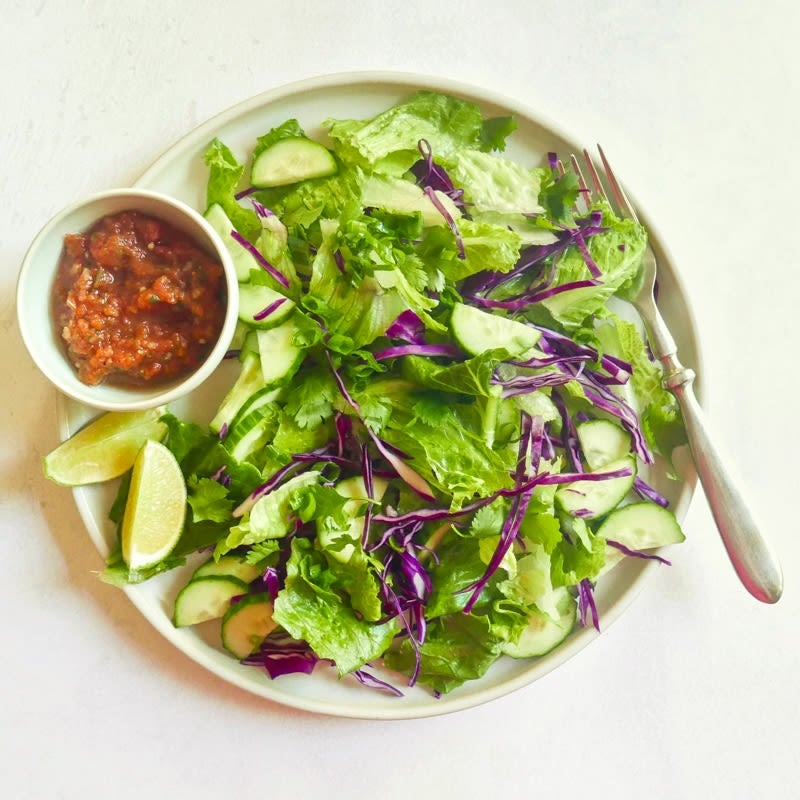 Photo of Southwest romaine salad by WW