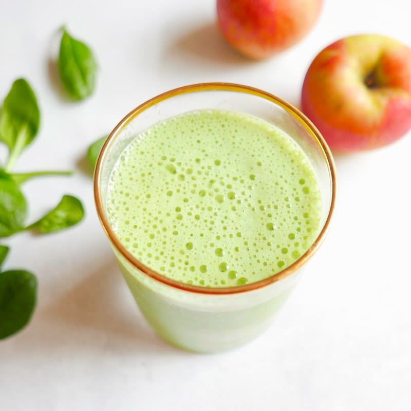 Photo of Apple and greens smoothies by WW