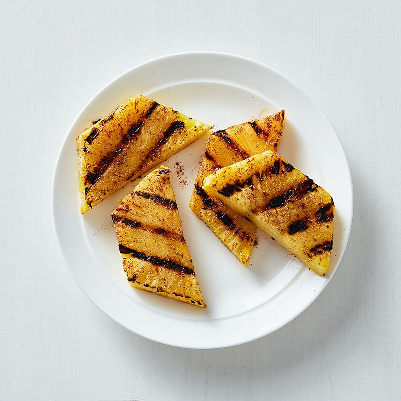 Photo of Tropical Spice-Rubbed Grilled Pineapple by WW