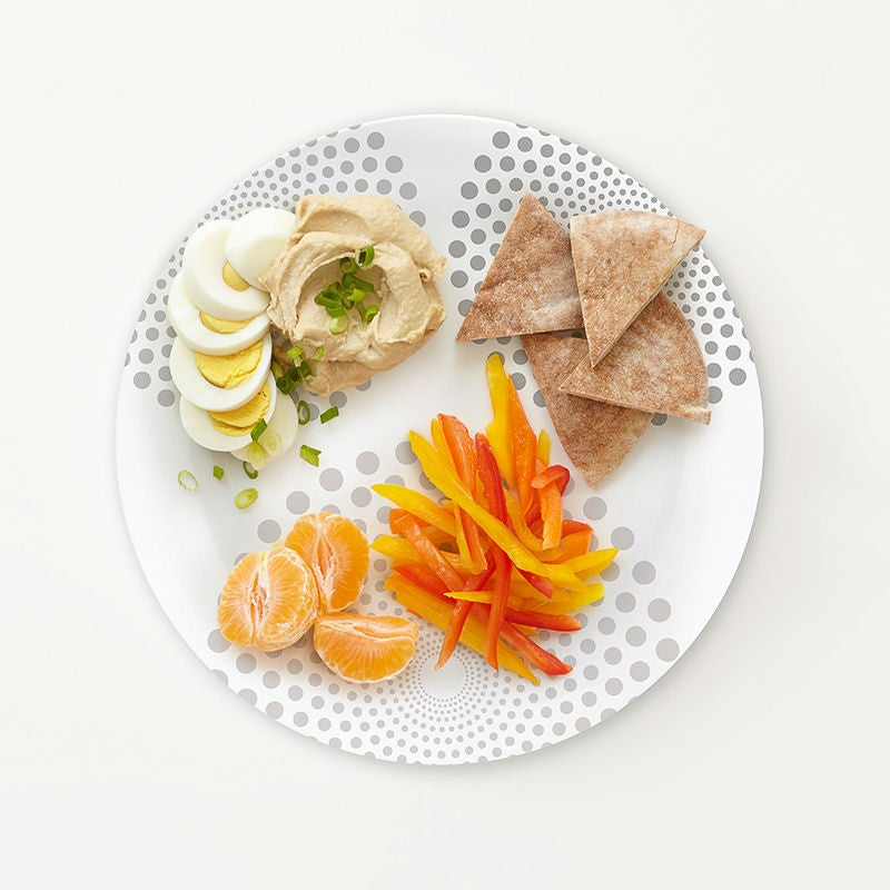 Photo of Portion Plate Middle Eastern Snack Plate by WW
