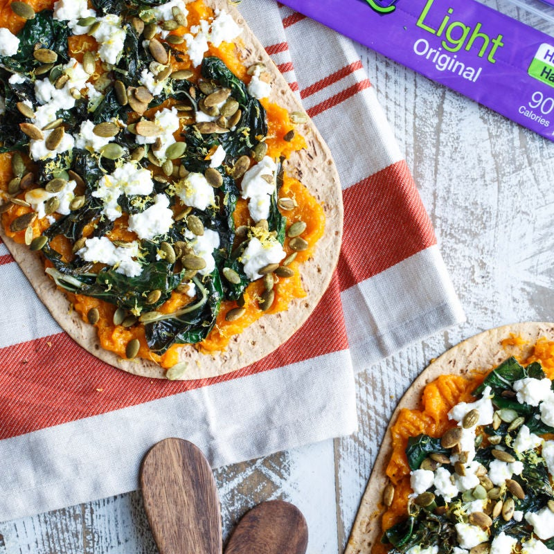 Photo of Butternut Squash and Kale Flatbread by WW