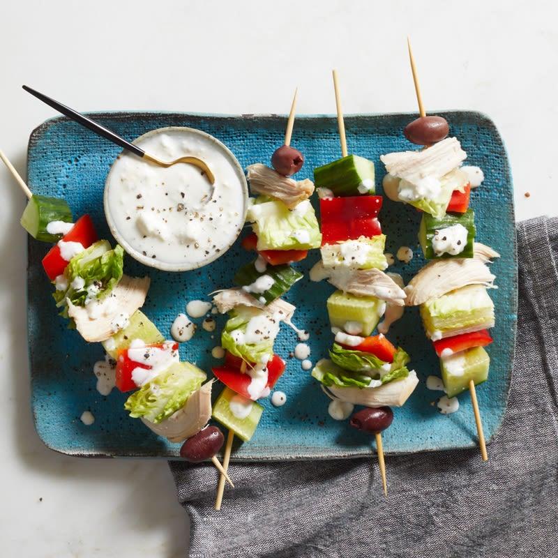 Photo of Greek salad kebabs by WW