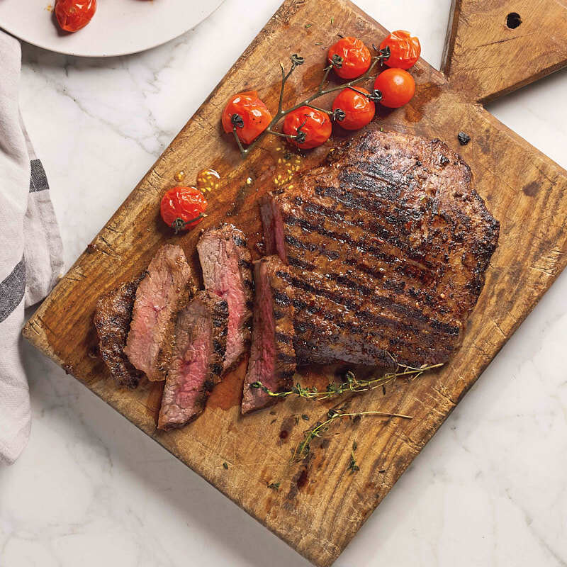 Photo of Grilled honey-chipotle flank steak by WW