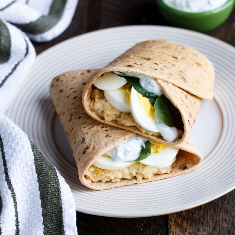 Photo of Spiced Chickpea Wrap by WW