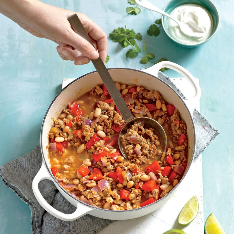 Photo of Turkey and white bean chili by WW