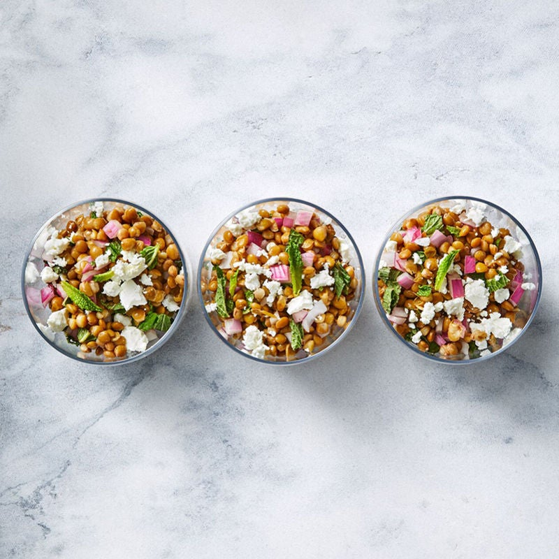 Photo of Lentil Salad with Fresh Mint and Goat Cheese by WW