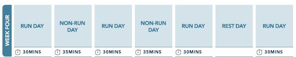Week 4 10km run