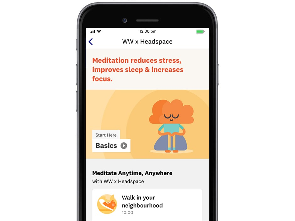 WW and Headspace meditations