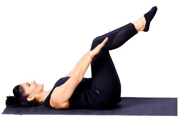 Pilates - Hundreds pose