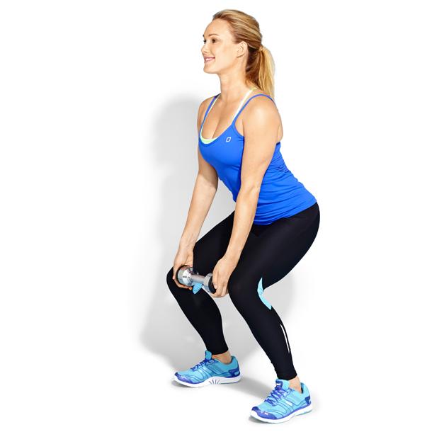 Narrow squats