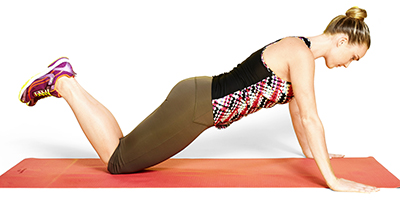 Push-up on knees