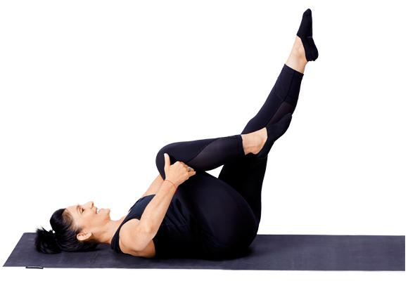 Pilates - Single leg core pose