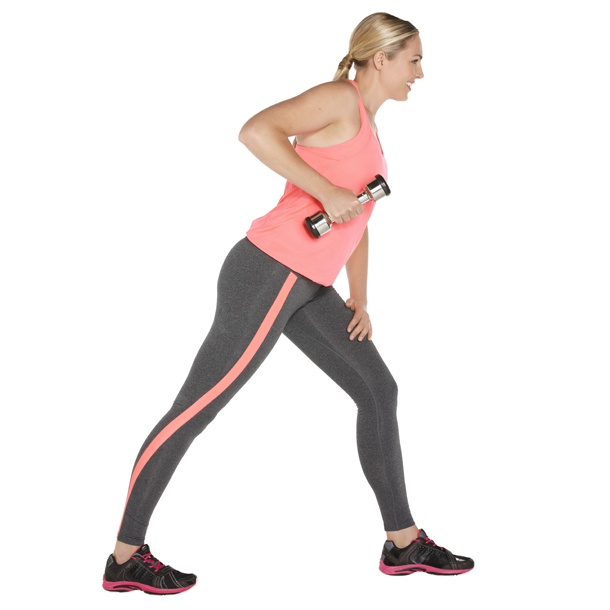 Single triceps extensions