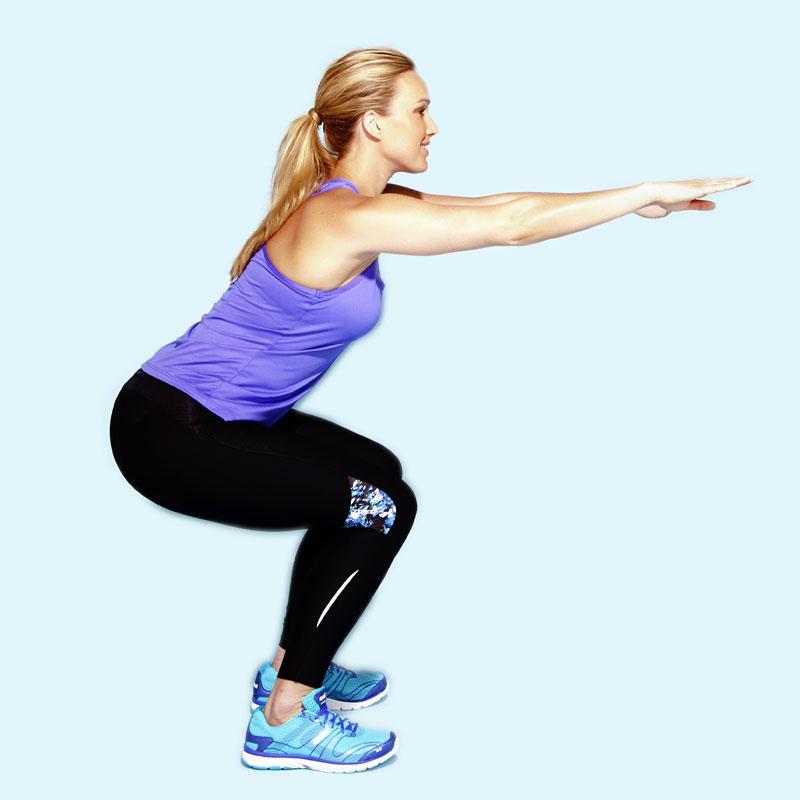 Traditional squat