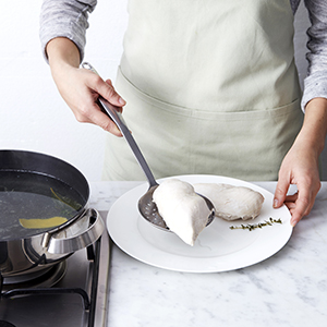 How to poach chicken breast step 3