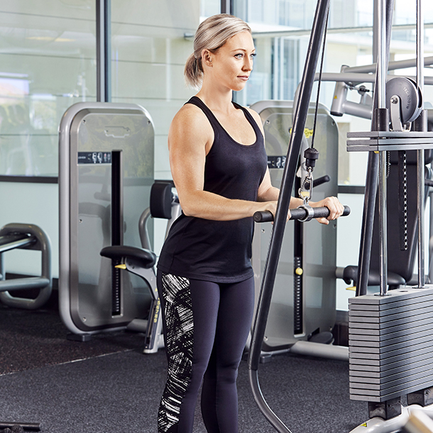 Triceps pull-down