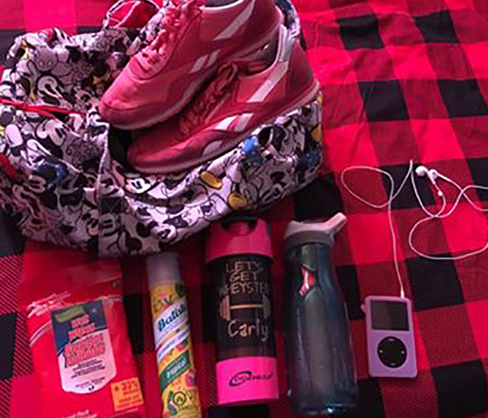 Carly's workout essentials