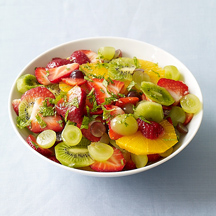 Orange, Strawberry, and Kiwi Salad