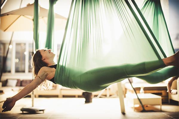 Yoga Hanging