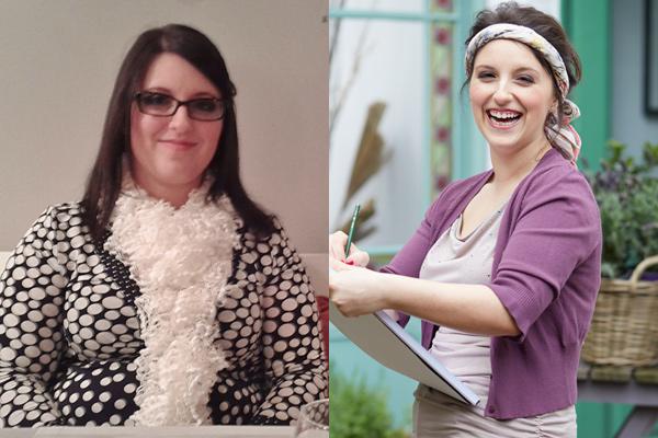 Daniela vorher und nachher mit Weight Watchers