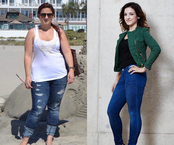 Laetitia hat 27 kg mit Weight Watchers abgenommen