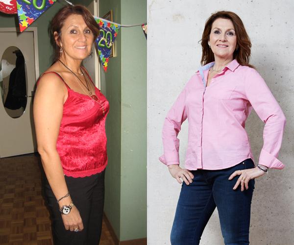 laurence hat 15kg mit Weight Watchers abgenommen
