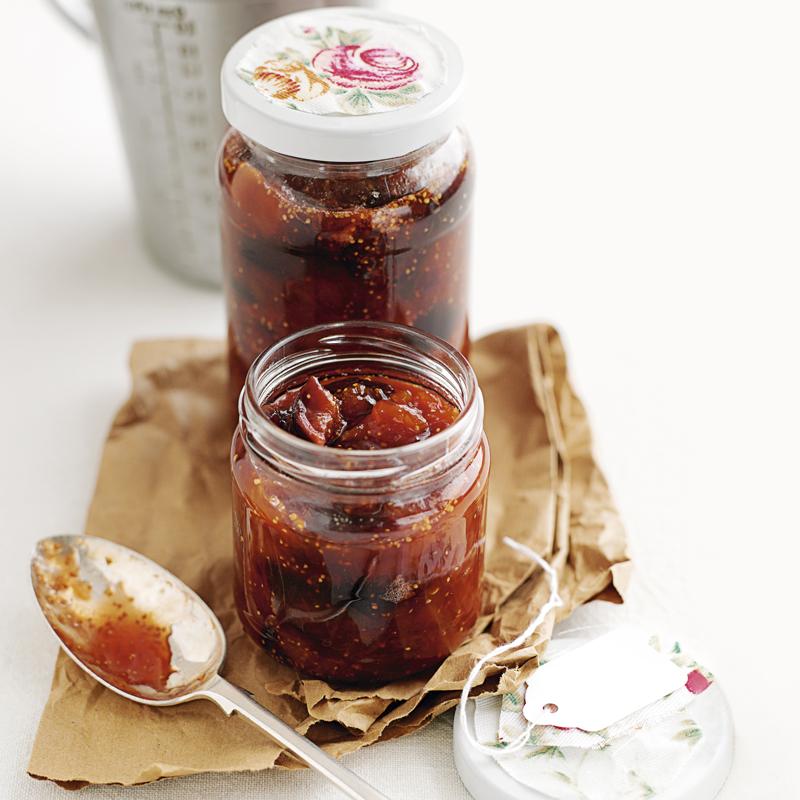 Feigen-Pfirsich Marmelade
