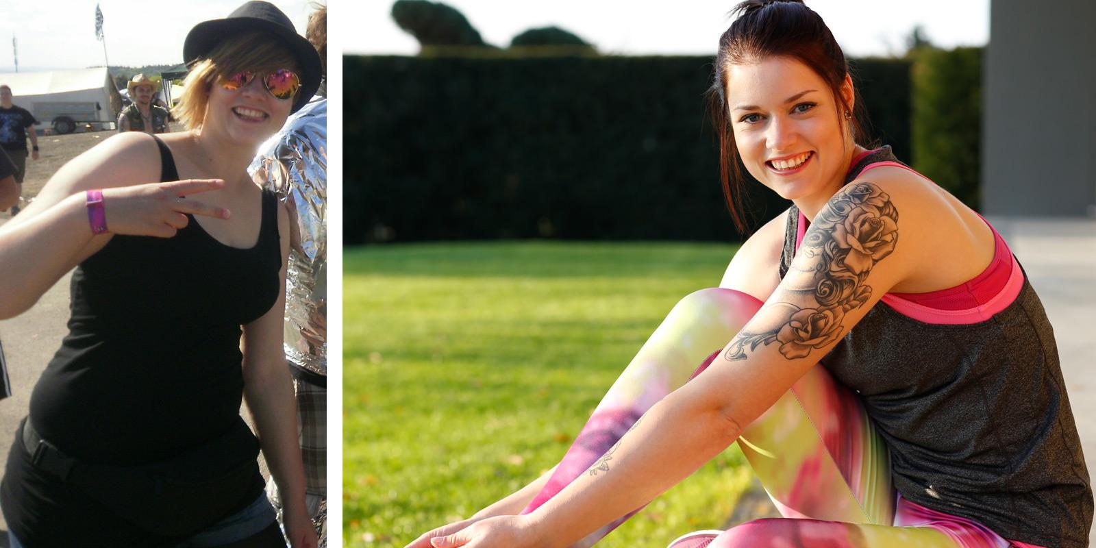 Sarah vorher und nachher