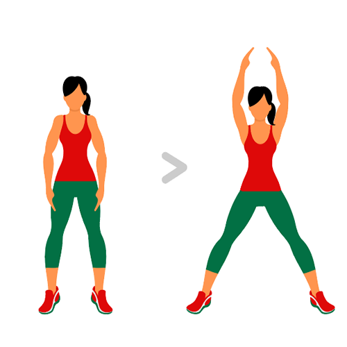 Exercice n° 1 : Jumping Jacks