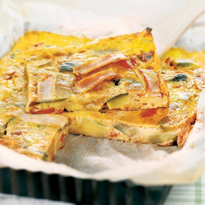 Délicieuse quiche sans pâte, avec WW, mangez ce que vous aimez et maigrissez sans régime