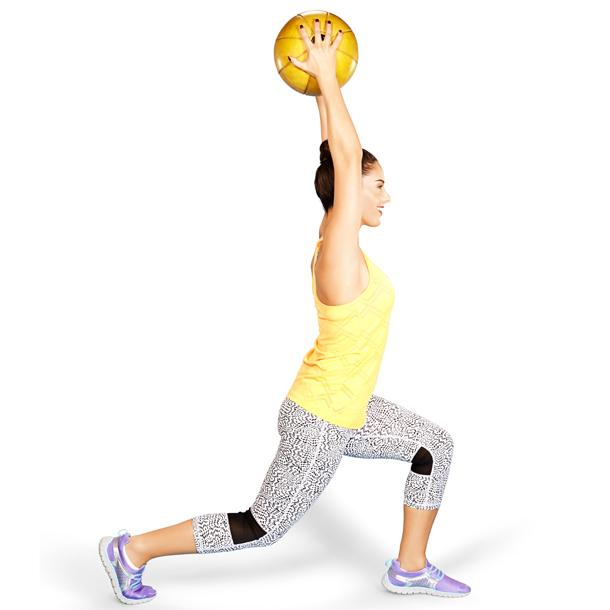 Lunge and lift