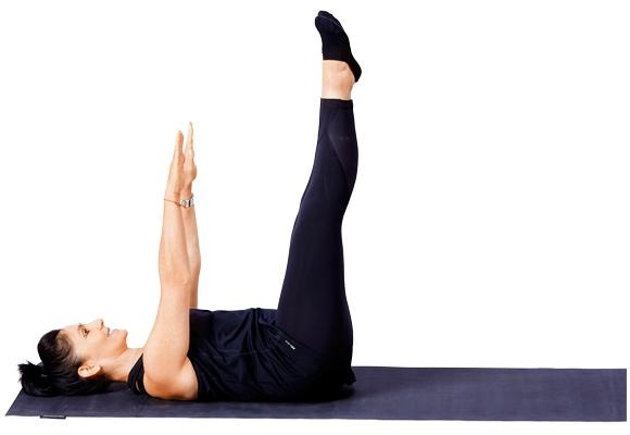 Pilates - Double leg core pose