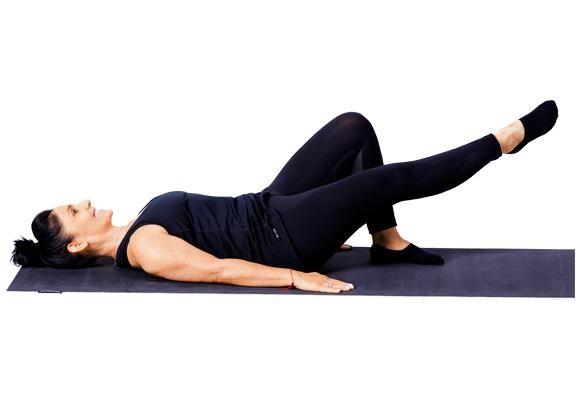 Pilates - Single leg circles pose