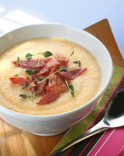 Höstsoppa med bacon