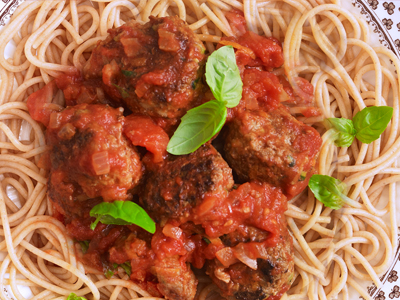 Slow cooked beef meatball stew