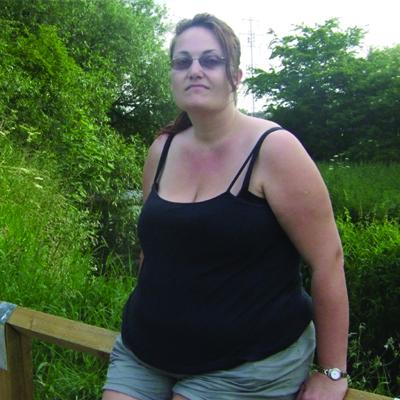 Weight Watchers member Amanda