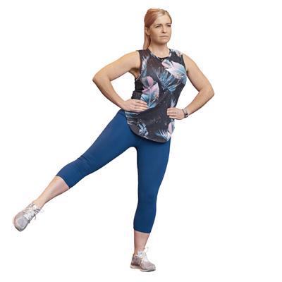 Jennie LIIT workout - 3 Three-point balance