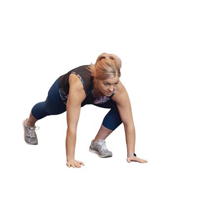Jennie LIIT workout - 4 Slow burpee