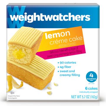 Lemon Crème Cake