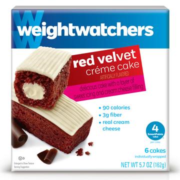 Red Velvet Crème Cakes