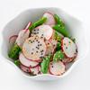 Asian Radish and Sugar Snap Pea Salad