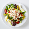 Feta, Egg and Chicken Salad