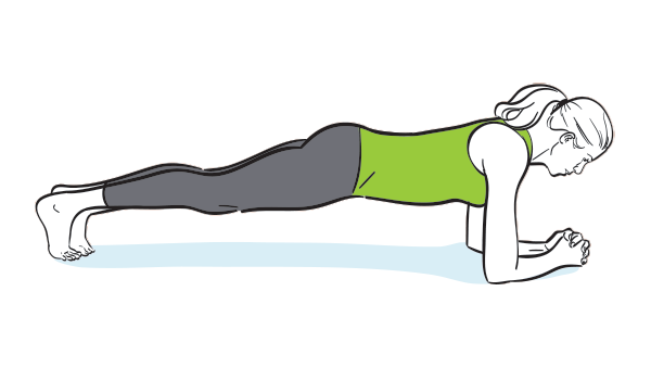 How to do a modified plank